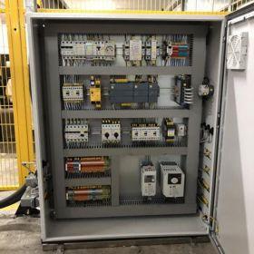Programowanie PLC HMI Prefabrykacja szaf sterowniczych Projektowanie i integracja systemów automatyki Serwis Uruchomienie Doradztwo