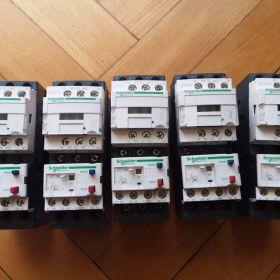 Styczniki Schneider Electric LC1D12 + Przekaźnik termiczny LRD08 5szt
