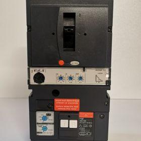 Wyłącznik Compact NSX - NSX160F + micrologic 2.2 + Moduł różnicowy Vigi MH