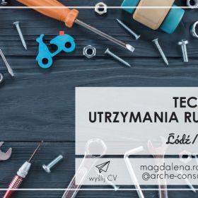 Technik Utrzymania Ruchu - TUR/Ł/MR