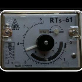 przekaźnik rts 61  na  110V  i na 220V  MERA REFA Regulator czasu włączenia 0-6 płynny i w podzakresach.
