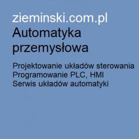 Ziemiński - Automatyka przemysłowa, programowanie PLC, HMI, serwis, doradztwo techniczne, projektowanie