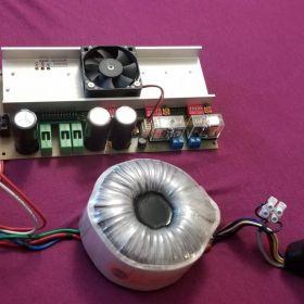 Sterownik silników krokowych ZELRP 3 osie + transformator toroidalny