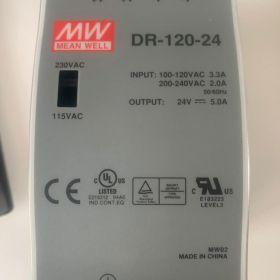 MEAN WELL DR-120-24 Zasilacz Impulsowy na szynę DIN