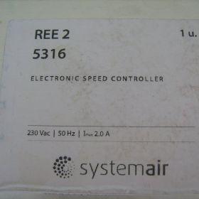 Regulator obrotów REE 2 5316 Systemair