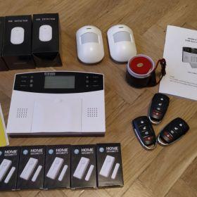 System alarmowy - centralka i czujki