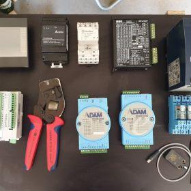 Sterownik plc panel hmi moduł przekaźnikowy i inne
