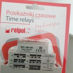 Nowy przekaźnik czasowy RPC-1MA-UNI