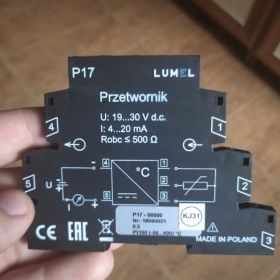 Przetwornik LUMEL P17 (P17-06000) 4-20mA 24VDC
