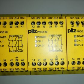 Przekaźnik Pilz PNOZ X3 3 sztuki