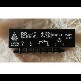 Przekaźnik rezystancyjny RRx-10  220V