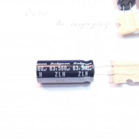 Rubycon 63ZLH560MG412.5X30 kondensator elektrolityczny, seria Zlh, 560uF, 20%, 63 V