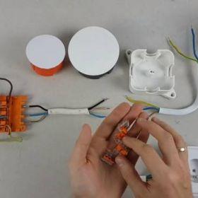 Jak estetycznie łączyć przewody przy pomocy złączek WAGO?