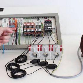 Jak zmierzyć parametry sieci energetycznej z modułami do PLC i przekładnikami prądowymi